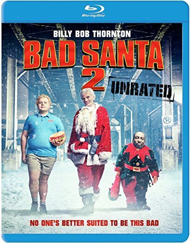 Bad Santa 2 Thornton Bates Cox Blu Ray Unrated