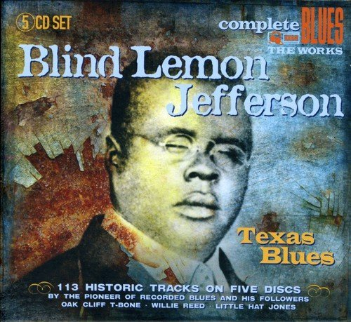 Blind Lemon Jefferson Texas Blues Import Gbr 5 CD
