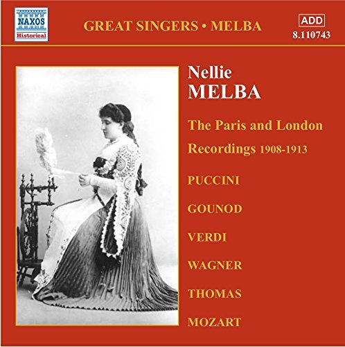 Nellie Melba Great Singers Vol. 3 Melba (sop)