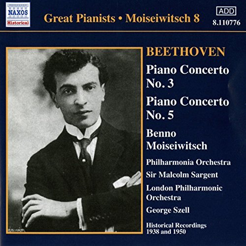 Moiseiwitsch Cond Sargent Phil Beethoven Piano Cto Nos. 3 & Import Aus