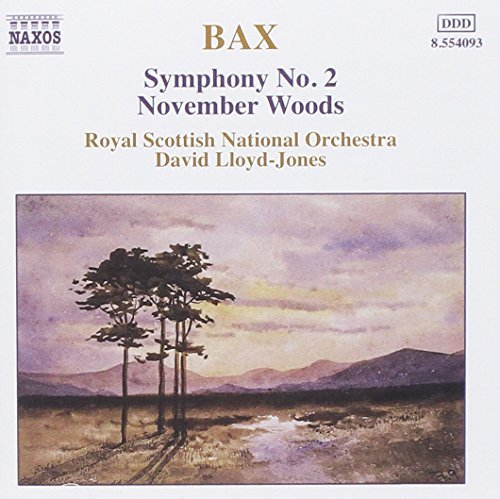 A. Bax Sym 2 November Woods Lloyd Jones Royal Scottish No