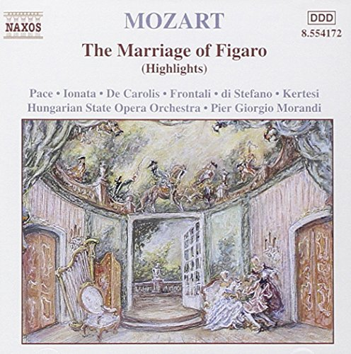 Wolfgang Amadeus Mozart Marriage Of Figaro Hungarian State Opera Orch