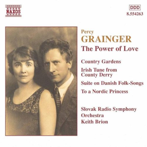 P. Grainger Power Of Love Ste Danish Folk Brion Slovak Rso