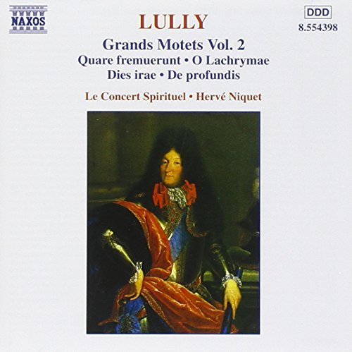 J. Lully Grand Motets Vol. 2 Niquet Concert Spirituel
