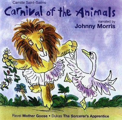 Saint Saens Dukas Carnival Of The Animals Morris*johnny (nar) Lenard Slovak Rso
