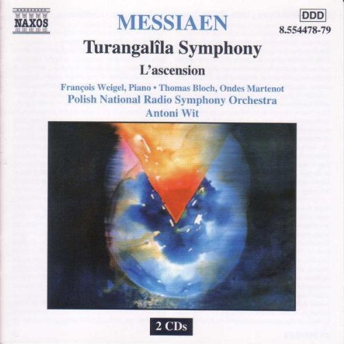 O. Messiaen Turangalila L'ascension Weigel Bloch Martenot Wit Polish Natl Rso