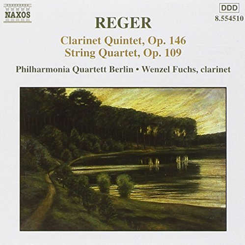 M. Reger Clarinet Quintet String Quarte Phil Qt Berlin