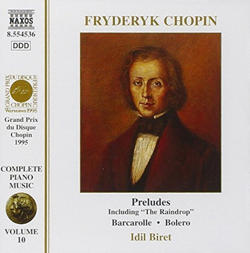 Frédéric Chopin Piano Music Vol. 10 Preludes