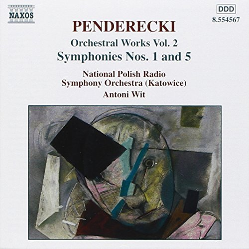 K. Penderecki Orch Works Vol. 2 Sym 1 5 Wit Polish Natl Rso