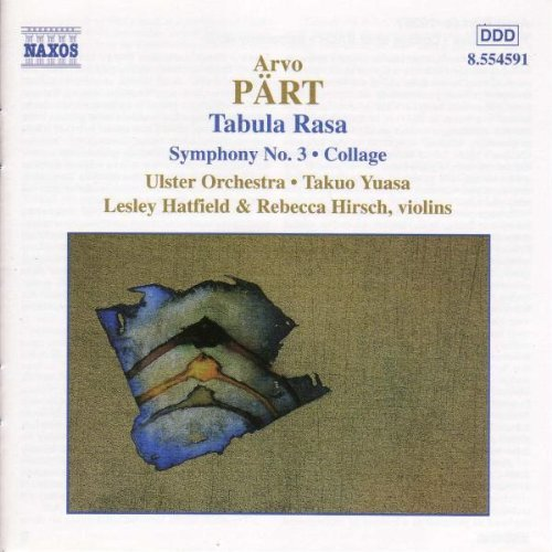 A. Part Orchestral Works Hatfield (vn) Hirsch (vn) Yuasa Ulster Orch