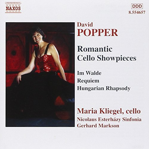 D. Popper Romantic Cello Showpieces Kliegel*maria (vc)