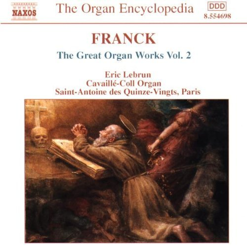 César Franck Great Organ Works Vol. 2 Lebrun*eric (org)