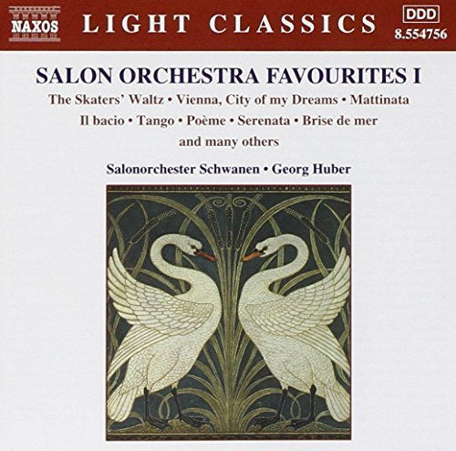 Salon Orchestra Favorites Vol. 1 Light Classics Strecker Drdla Albeniz Arditi Leoncavallo Toselli Fibich &