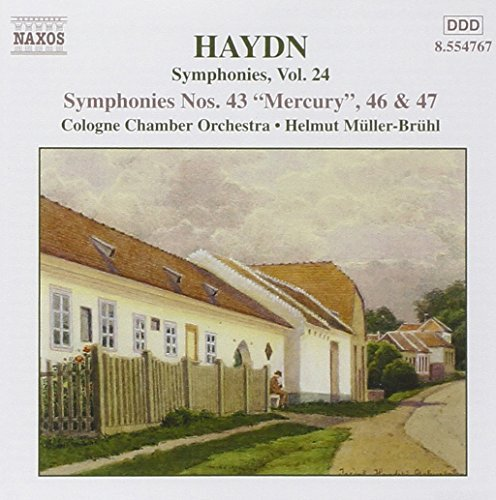 J. Haydn Symphonies Vol. 24 Helmut Cologne Co