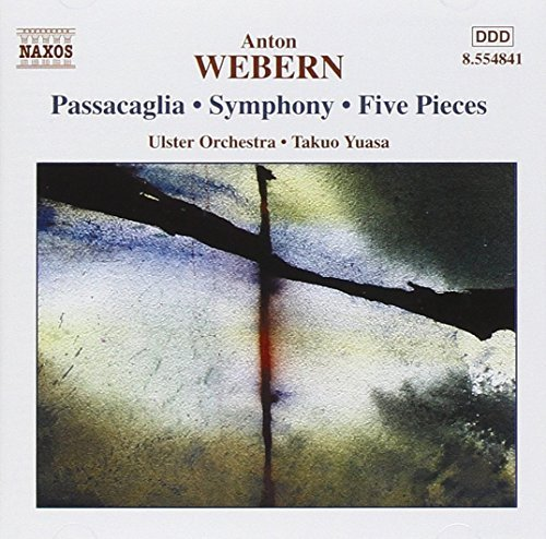 A. Webern Passacaglia Op. 1 Movts For St Yuasa Ulster Orch