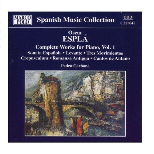 O. Espla Piano Works Vol. 1