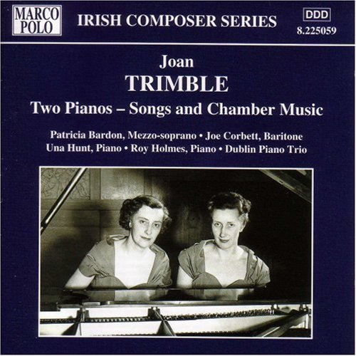 J. Trimble Songs & Music For 2 Pianos Various