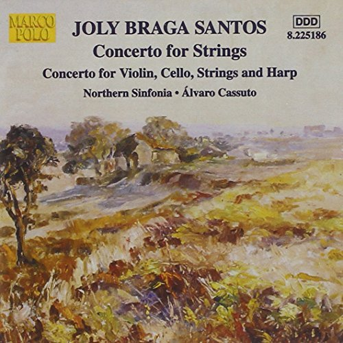 J.B. Braga Concerto For Strings Creswick Somov Blair Cassuto Northern Sinf