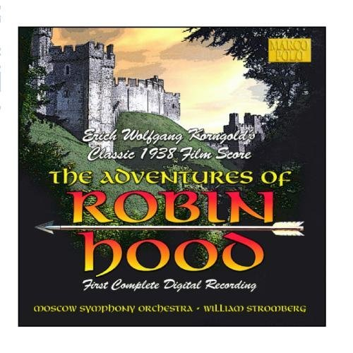 E.W. Korngold Adventures Of Robin Hood Stromberg Moscow So