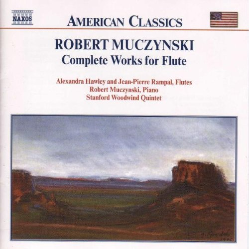 R. Muczynski Complete Works For Flute Stanford Ww Qnt