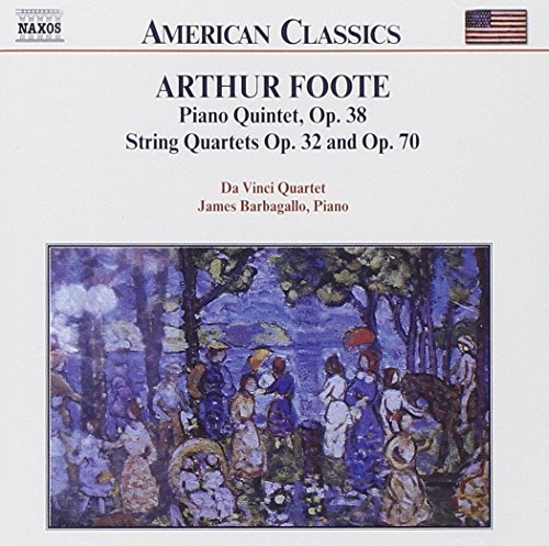 A. Foote Chamber Music Vol. 1 Barbagallo*james (pno) Da Vinci Qt