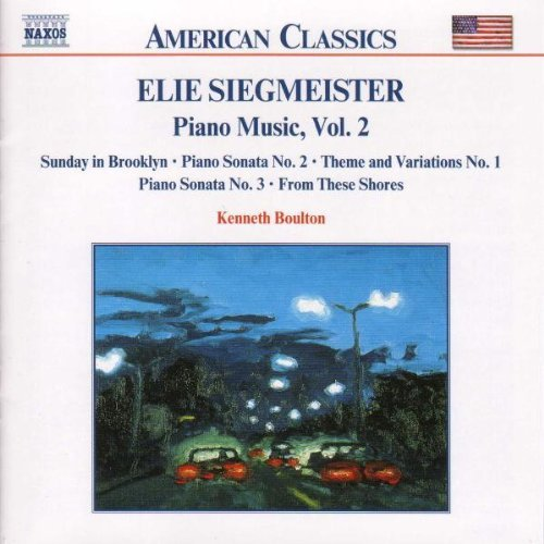 E. Siegmeister Piano Music Vol. 2 Boulton*kenneth (pno)