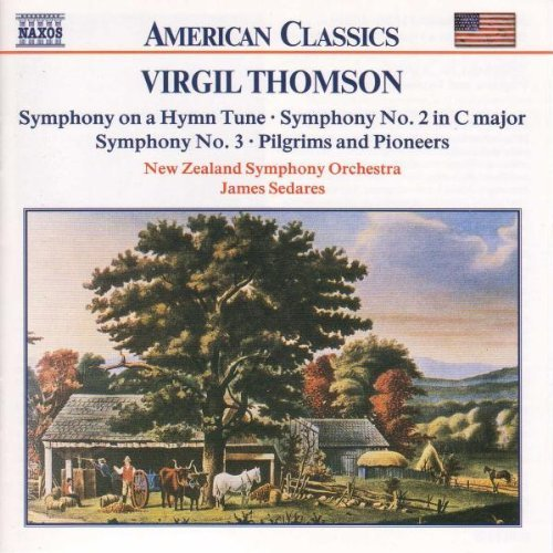 V. Thomson Sym On Hymn Tune Sym 2 3 Pilgr Sedares New Zealand So