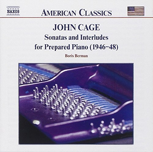 J. Cage Music For Prepared Piano Berman*boris (pno)