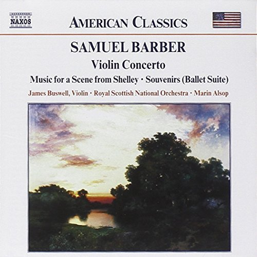 S. Barber Con Vn Op. 14 Souvenirs Op. 28 Buswell*james (vn) Alsop Royal Scottish Natl Orch