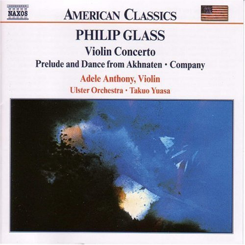 P. Glass Con Vn Anthony Ulster Orch