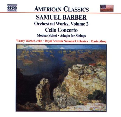 S. Barber Cello Concerto Medea Warner*wendy (vc) Alsop Royal Scottish Natl Orch