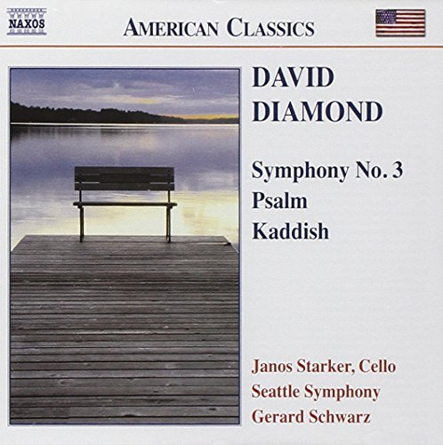 D. Diamond Sym 3 Psalm Kaddish Vc Orch Starker*janos (vc) Schwarz Seattle So