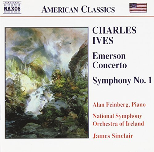 C. Ives Charles Ives Emerson Concerto Feinberg*alan (pno) Sinclair Ireland Natl So