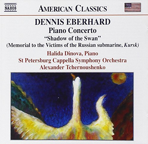 D. Eberhard Shadow Of The Swan Con Pno Pro Dinova (pno) Migunov (bass) Tchernoushenko St. Petersburg