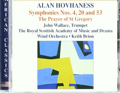 A. Hovhaness Sym 4 20 53 Brion Royal Scottish Acad