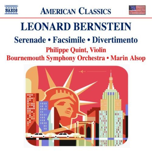 L. Bernstein Serenade Facsimile Divertiment Quint*philippe (vn) Alsop Bournemouth So