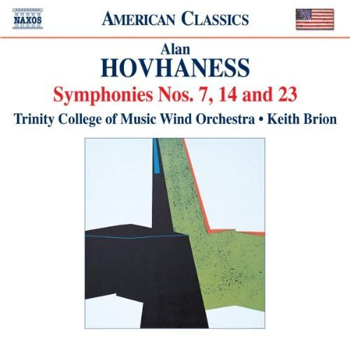 A. Hovhaness Symphonies Nos. 7 14 23 Brion Trinity College Of Music