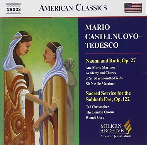 M. Castelnuovo Tedesco Choral Music Martinez Christopher Cohen & Various Various