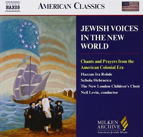 Schola Hebraeica Jewish Voices In The New World Barnum Schola Hebraeica