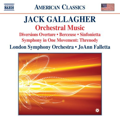 J. Gallagher Orchestral Music Diversions Falletta London Symphony Orche