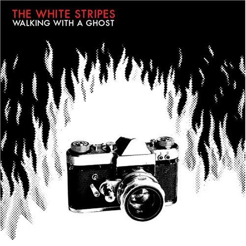 White Stripes Walking With A Ghost Ep