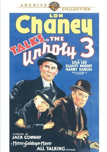 Unholy 3 (1930) Chaney Lee Nugent Made On Demand Nr