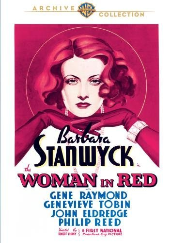 Woman In Red (1935) Stanwyck Raymond Tobin DVD Mod This Item Is Made On Demand Could Take 2 3 Weeks For Delivery