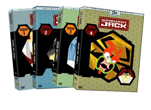 Samurai Jack Seasons 1 4 DVD