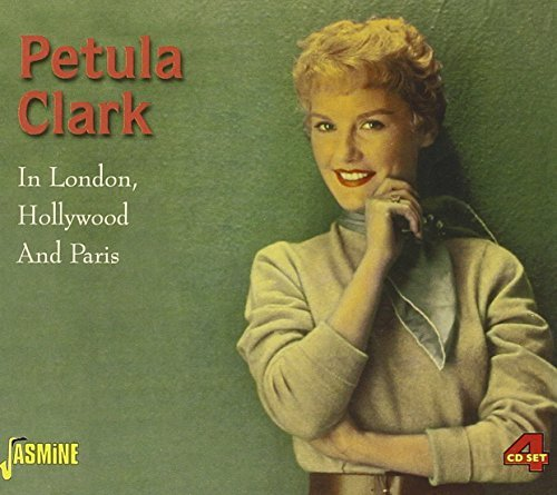 Petula Clark In London Hollywood & Paris Import Gbr 4 CD