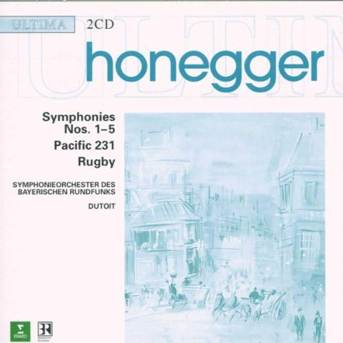 A. Honegger Sym 1 5 Pacific 231 Rugby Dutoit Hayer Rso