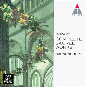 W.A. Mozart Sacred Works Comp Various