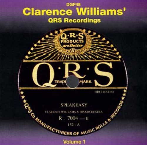 Clarence Williams Vol. 1 Qrs Recordings