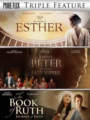 The Book Of Esther Apostle Peter & The Last Supper The Book Of Ruth Triple Feature