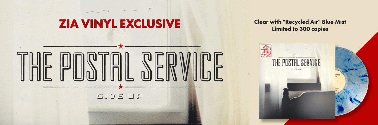 The Postal Service Vinyl Zia Exclusive
